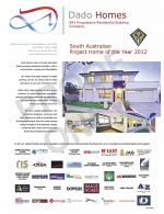 Dado Homes wins HIA Award 2012